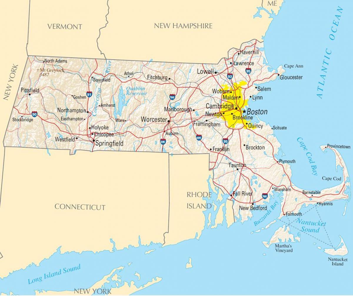 Boston Pa Et Kort Boston Pa Et Kort Usa